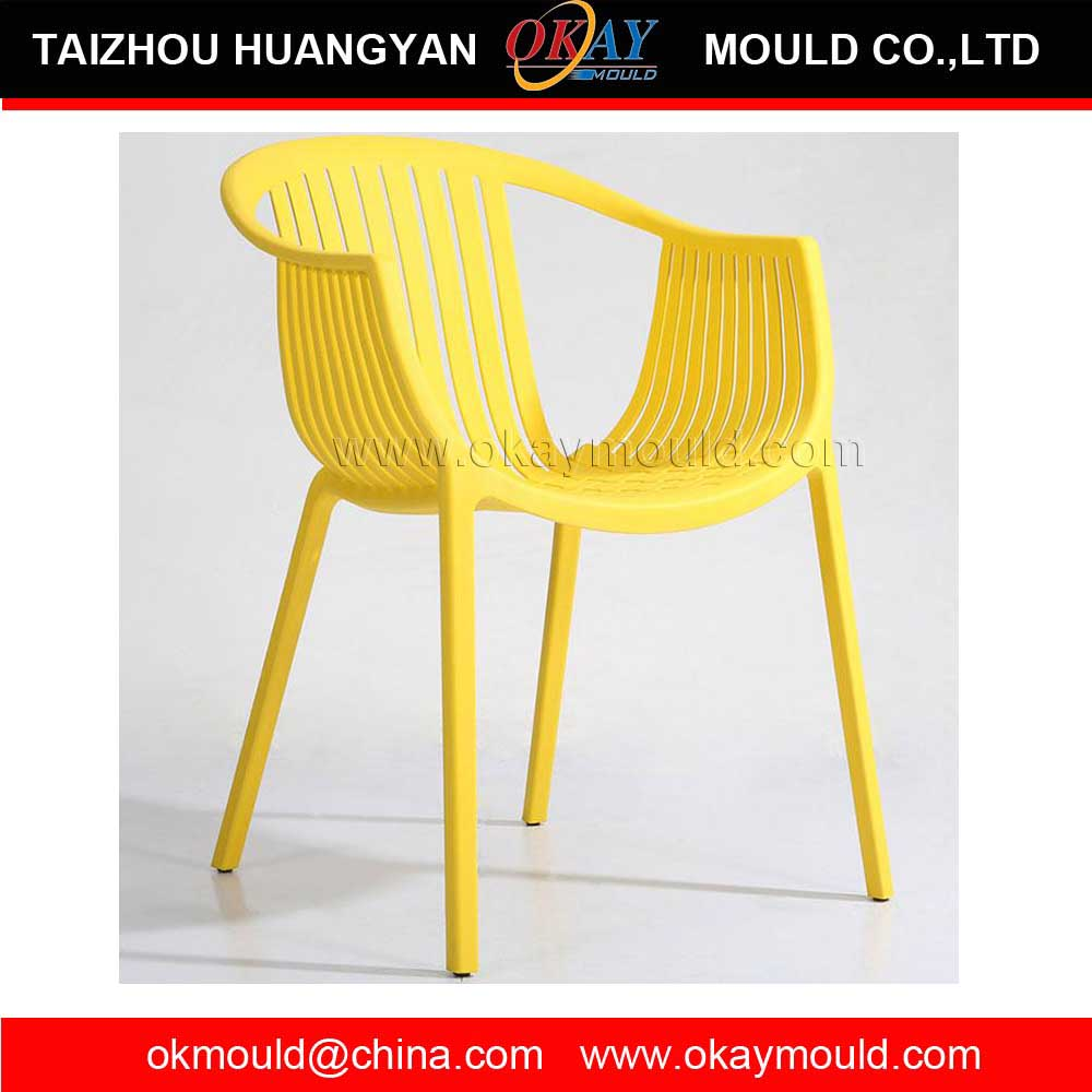 Fashion Rattan Chair Plastic Injection mold Hot selling good quality high back office chair injection plastic mold export to USA