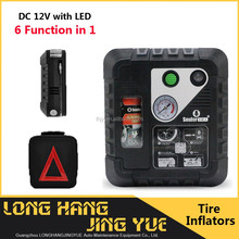 digital tyre inflator prices/tire sealant with air compressor/air compressor 12v