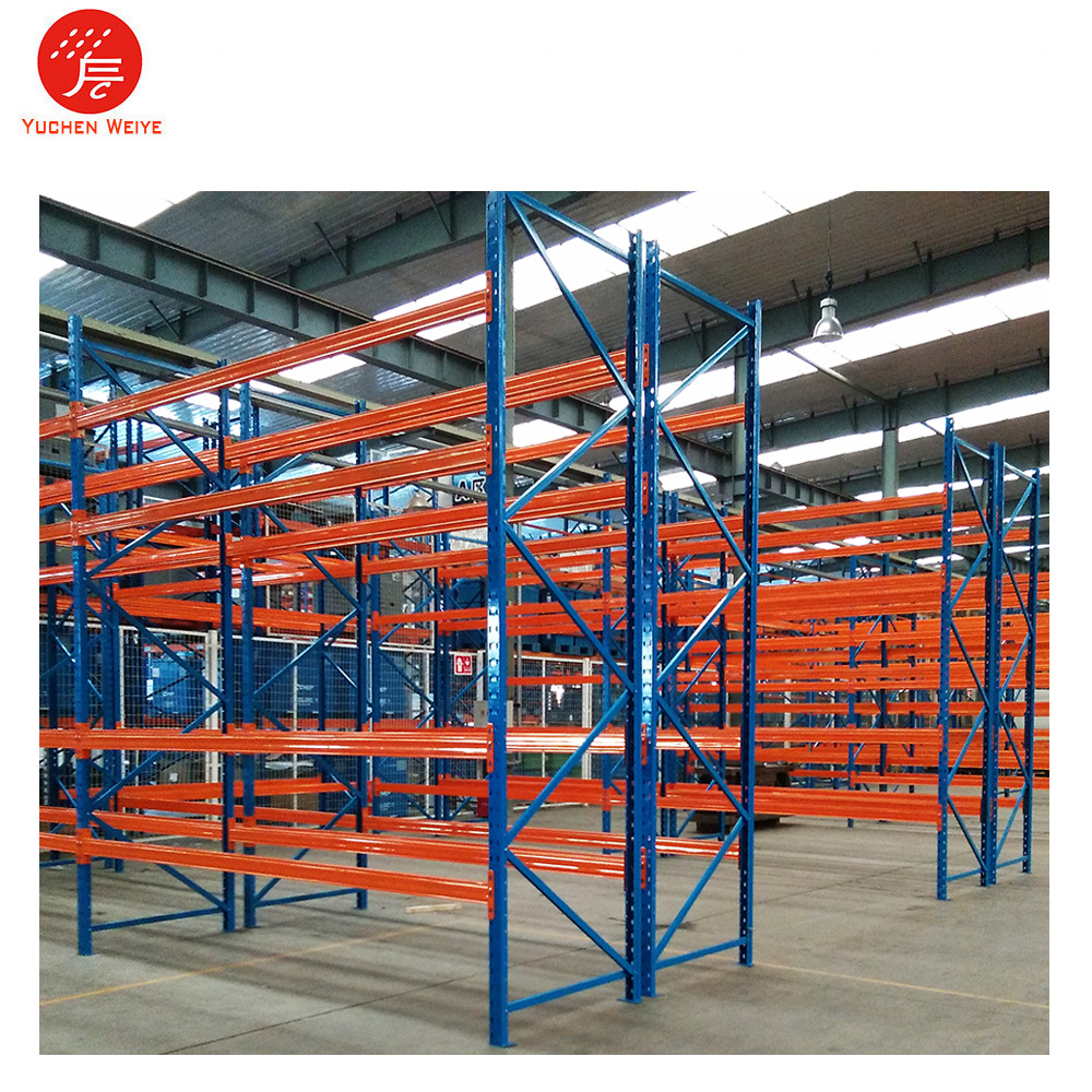 Super Corrosion Powder Coating United Steel Products Pallet Racks with Upright Protector