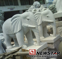 Marble carvings & Sculptures - Elephant