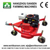 ATV Mower for sale, grass cutter finish lawn mower, gasoline atv mower