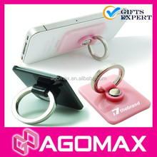 Promotion gift OEM order sticky metal cell phone ring holder