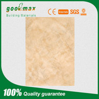building material pvc fiber cement board uv wall panel