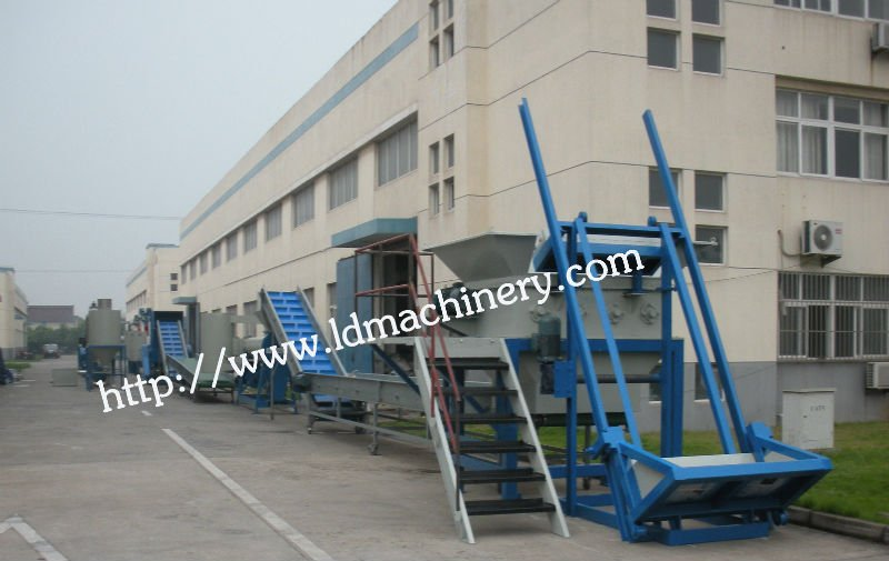 pet recycling line/washing line.drying line
