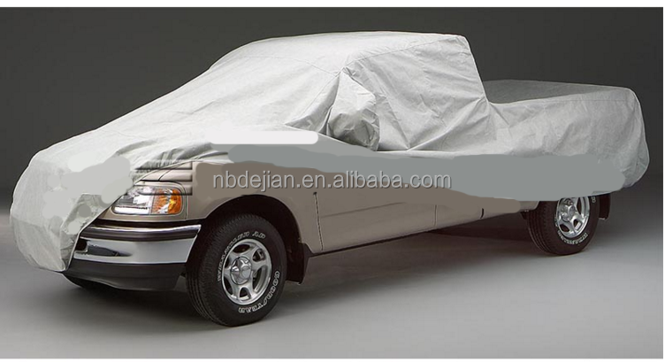 100%Polyester Material and UV protect full pick upcover truck car cover