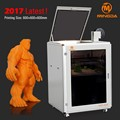 600 X 600 X 600mm large 3d printer machine for prototyping , hot selling MINGDA MD-666 industrial printer 3 D