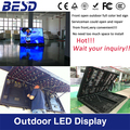 2 years warranty P10 programming front open led open closed sign/Outdoor full color front open led display