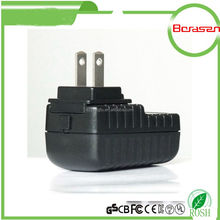 New Design Ul,Ce,Saa 5w 12w Interchangeable Plugs Adaptor 5v 2a 12v1a Switching Power