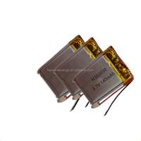lithium ion polymer battery302030 3.7v rechargeable lithium ion polymer battery Hot 3.7v 140mah lipo battery