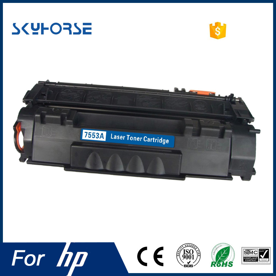 Wholesale Compatible Toner cartridge Q7553A 53A for HP LaserJet P2014 P2015 Printer