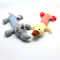 Wholesale Custom Plush Dog Toys Durable Pet Chew Squeaky Toys Dog Activity Toy
