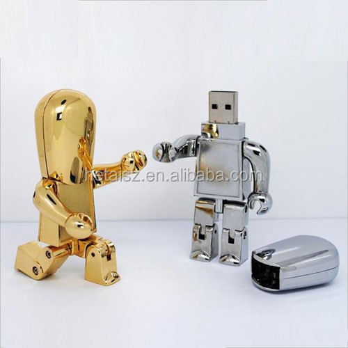 wholesale robot 1 terabyte 32gb USB3.0 flash pen drive 4gb 8gb memory stick