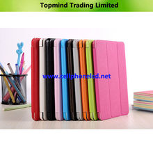 Topmind Book Type Leahter Case Stand for iPad Mini