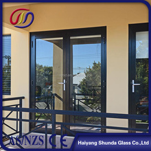 Beijing Haiyangshunda 2017 new product aluminum double glazed windows with built in blinds made in china
