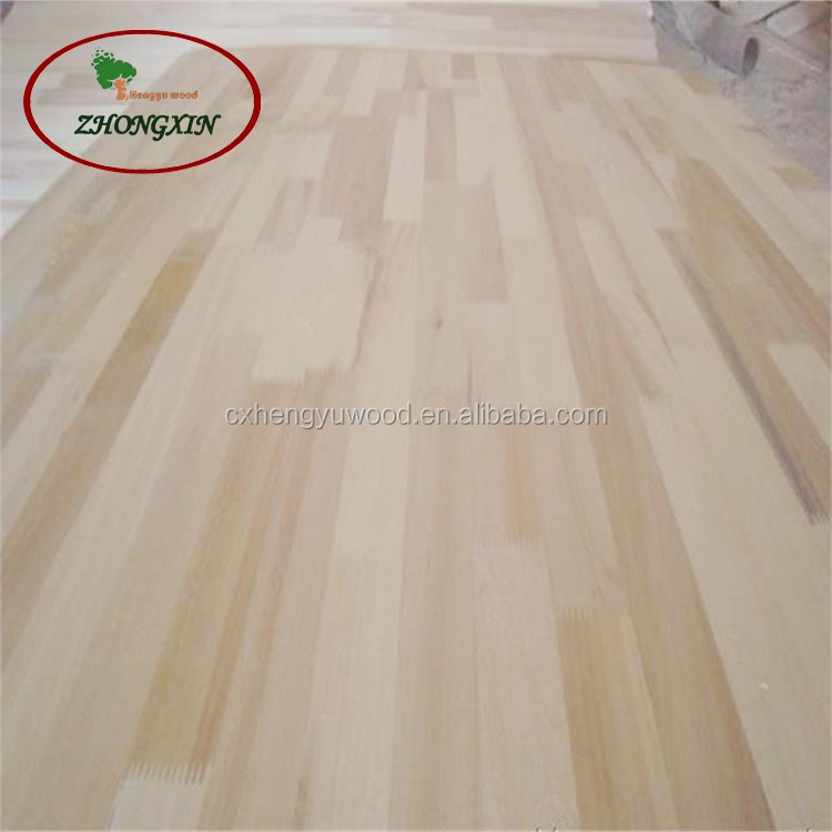 Seamless splice poplar wood boards for furniture wood on sale