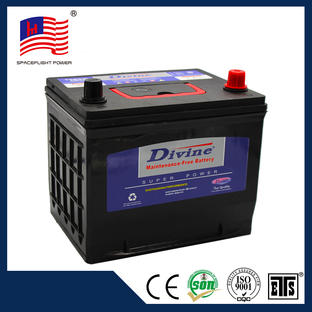 12v 65AH japan car battery specifications