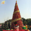 2016 Led christmas tree for new year stage decoration
