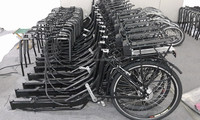 Three wheel bike for cargo cargo bicycle frame