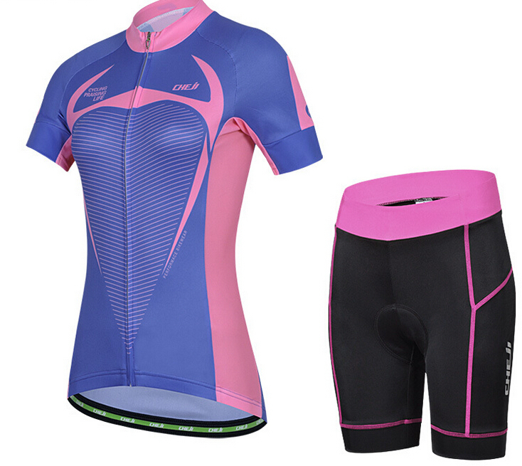In-Stock 2015 Quick Dry <strong>Specialized</strong> Cheap China Cycling Clothing Set For Women