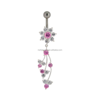 2016 Sexy Body Jewelry Belly Bar