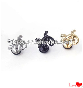 Stainless steel men ear jewelry animal ear piercing
