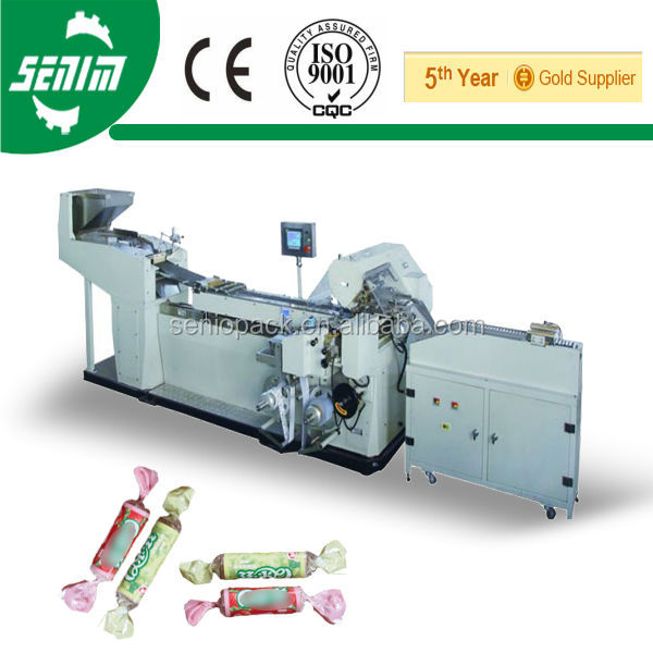 New Condition Fully Automtic SMVS-2000 Confectionery Candy Double Twisting Packing Machine