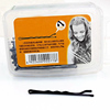 Black Metal Hair Grips Bobby Pins