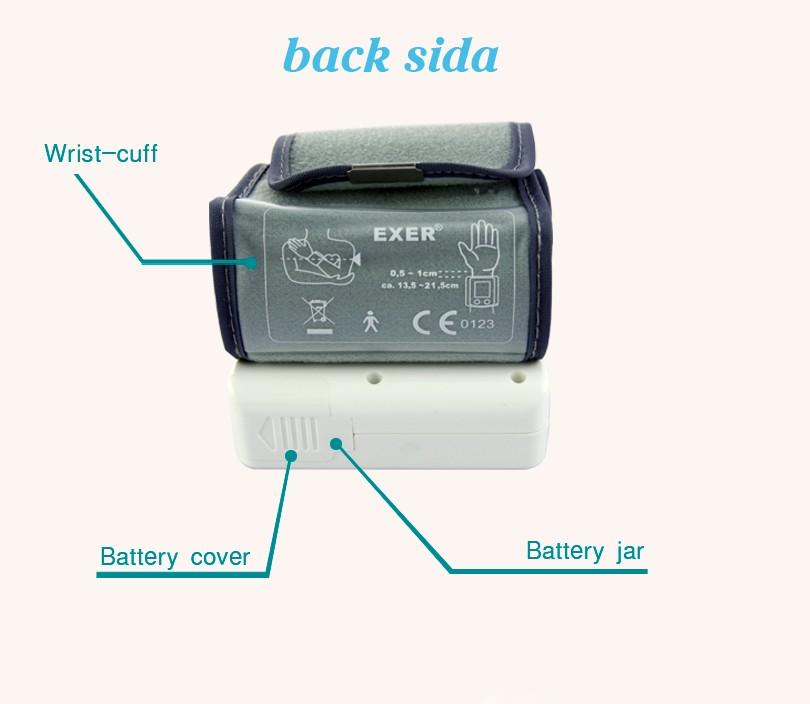 Wrist type blood pressure monitor bluetooth 4.0