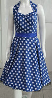 Classic Vintage Polka Dot Spot 50's 60's Rockabilly Swing Prom Cocktail Dress UK 8-24