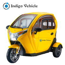 Hot Sale Three Wheel Covered Motorcycle Adult Electric Tricycle