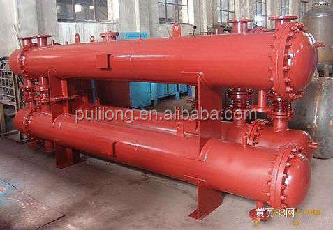 ASME certificate shell tube heat exchanger for bitumen heating