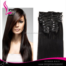alibaba express qingdao raw wholesale clip in hair extension cheap virgin non remy indian hair
