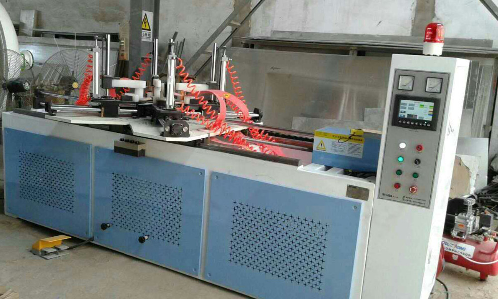 High frequency wood frame assembly machine