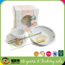 China Supplier Custom Luxury Paper Tea Cup Saucer Packaging