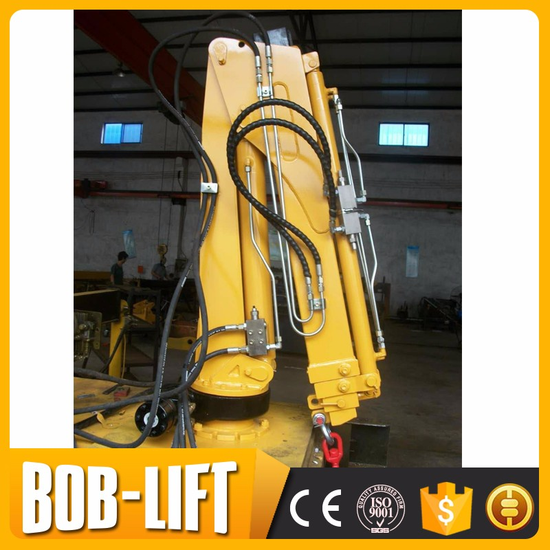 Knuckle Boom 1 ton Crane Pick Up Truck