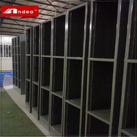 Super quality industrial storage locker cabinet foldable grey l shape steel storage locker cabinet