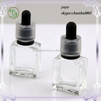 childproof safety e-liquid glass bottles 15ml tamper seal manufacture Free samples