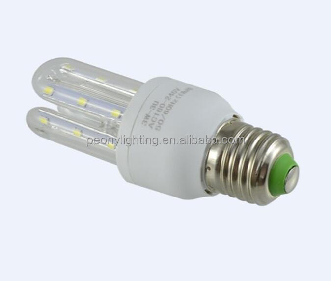 Energy saving light ,Led lamp 360 degree 3U led corn light and corn led bulb E40 E27 B22