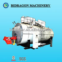 Wns series bunker C oil fired hot water boiler