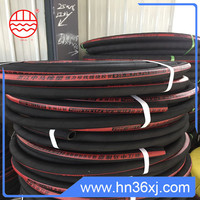 SANLIU oil & heat resistant wrapped cover tire cord rubber hose