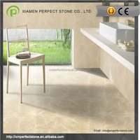Beige Stone Cladding With Burdur Beige Marble Project Floor