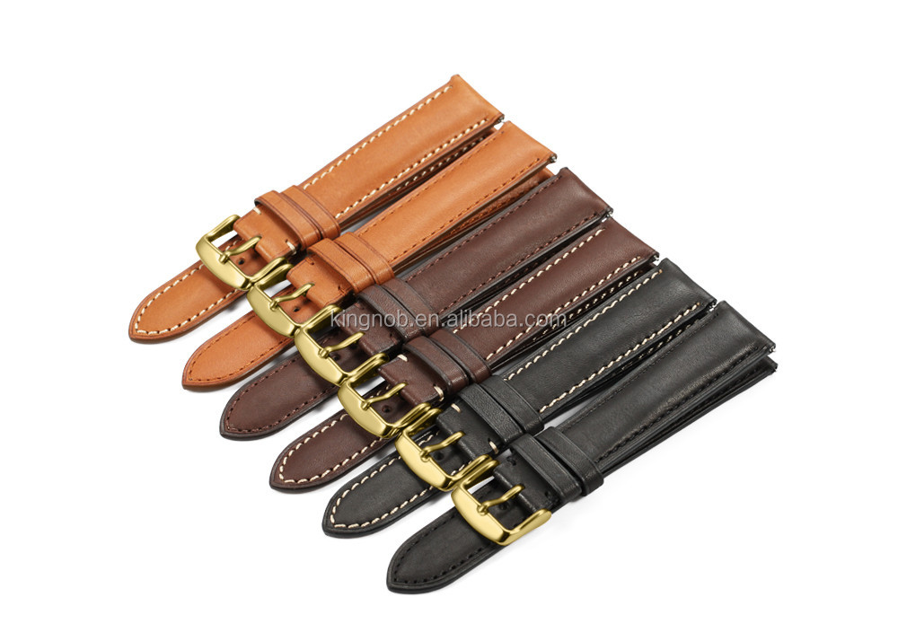 18mm to 22mm Quick Release Watch Band France Leather Watch Strap