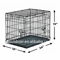 High Quality Metal Foldable Dog Crate wholesale