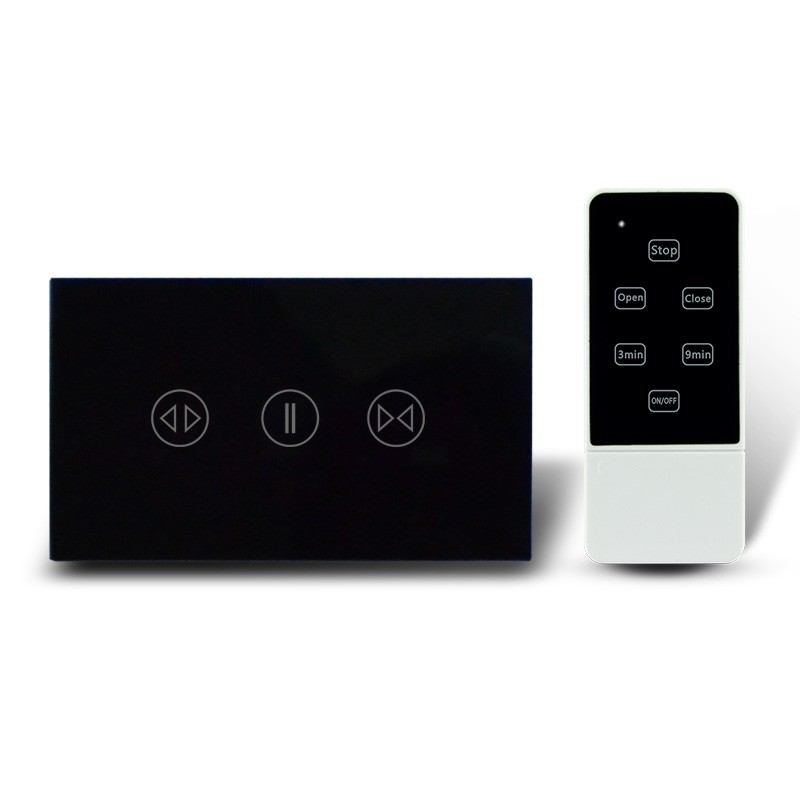 2017 Smart Home 2 gang 1 way Wall Switch Manufacturer US/UK/EU Touch Switch with Crystal Touch