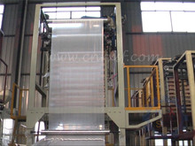 LDPE LLDPE stretch / heat shrink film blowing machine