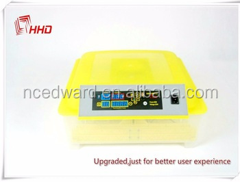 HHD Hot Selling Transparent Poultry egg full automatic cheap mini Incubator fertilized chicken eggs for sale