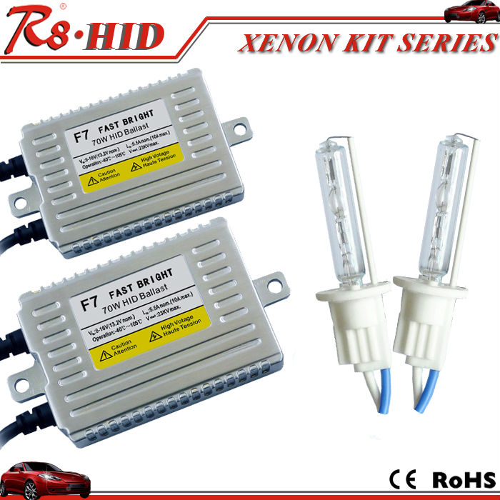 Quick Start Fast bright <strong>HID</strong> Xenon Kit Real 75W F7 ballast+Single Beam Xenon <strong>Bulb</strong> Types