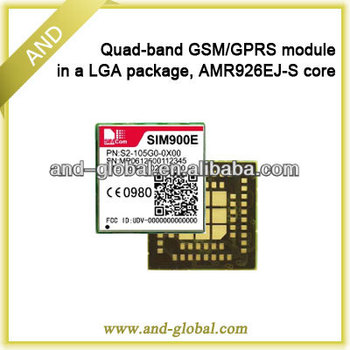 SIM900E GSM / GPRS quad-band module LGA package