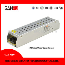 Led switch mode power supply low voltage kit 60w low voltage 5v 12a / 12v 5a led driver power supply