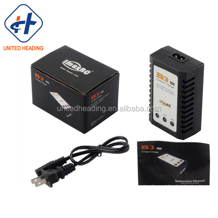 2S-3S 110-240VAC B3 LiPo Balance Battery Charger for RC Airplane Car